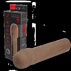 CyberSkin® Penis Extension 4 cm. Negro-0