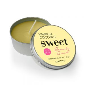 Massage Candle Sweet Vainilla y Coco 30 gr.-0