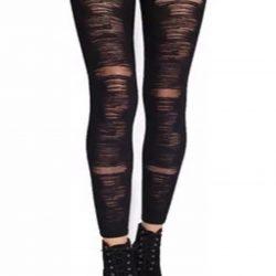 Panty Legging Broken - Talle 2 - Negro-0